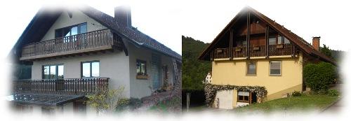 Unsere Häuser auf dem Rebberg